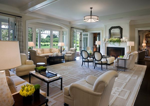 How to Style a Large Living Room  Sutherlands Blog