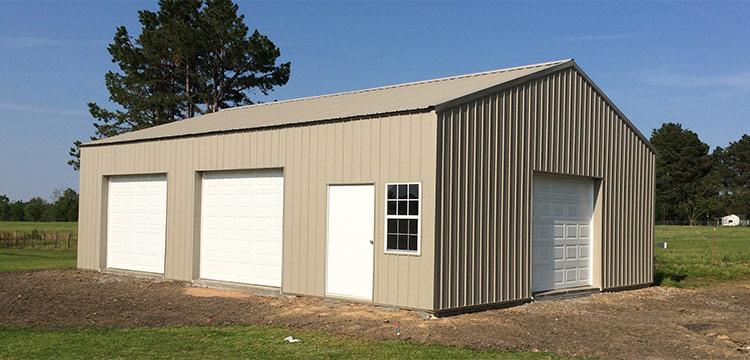 Hardiplank 18x20 Garage Shed In 2019 Garage Detached Garage