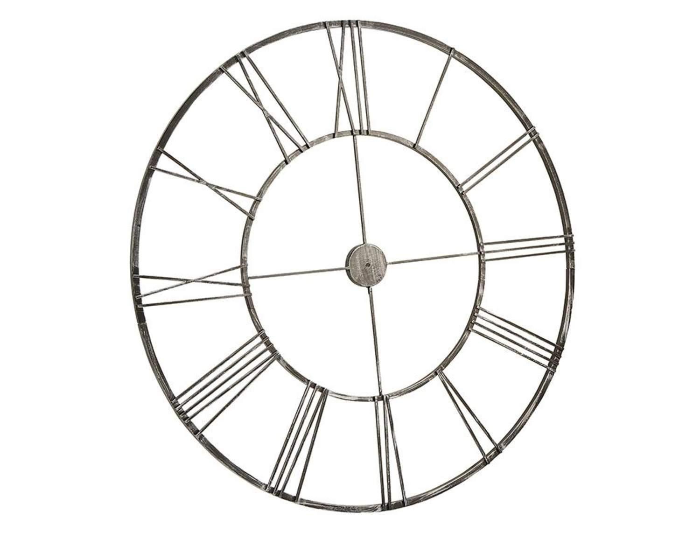 Magnolia home 90901541 silver infinity clock frame