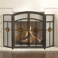 Panacea 15137 3 Panel Mission Style With Glass Insert ...