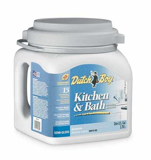 Dutch Boy 1.0DB1553 Kitchen And Bath Latex Enamel Paint