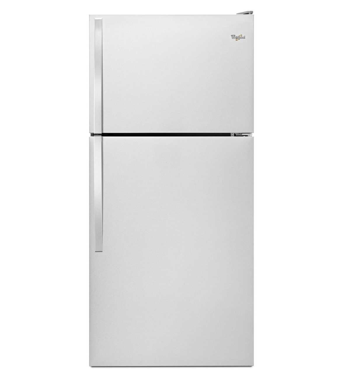 Whirlpool WRT318FZDW 30Inch Wide TopFreezer Refrigerator
