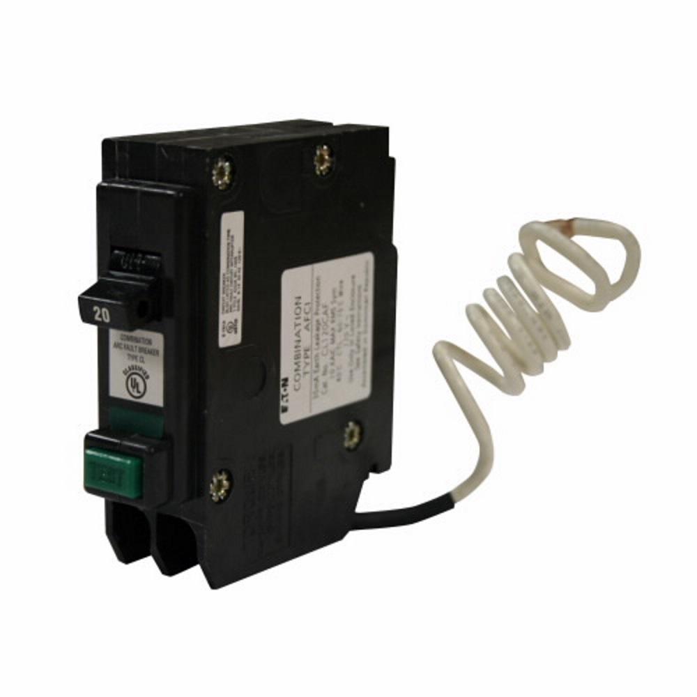 medium resolution of  20 amp combination arc fault circuit breaker eaton cl120cafcs