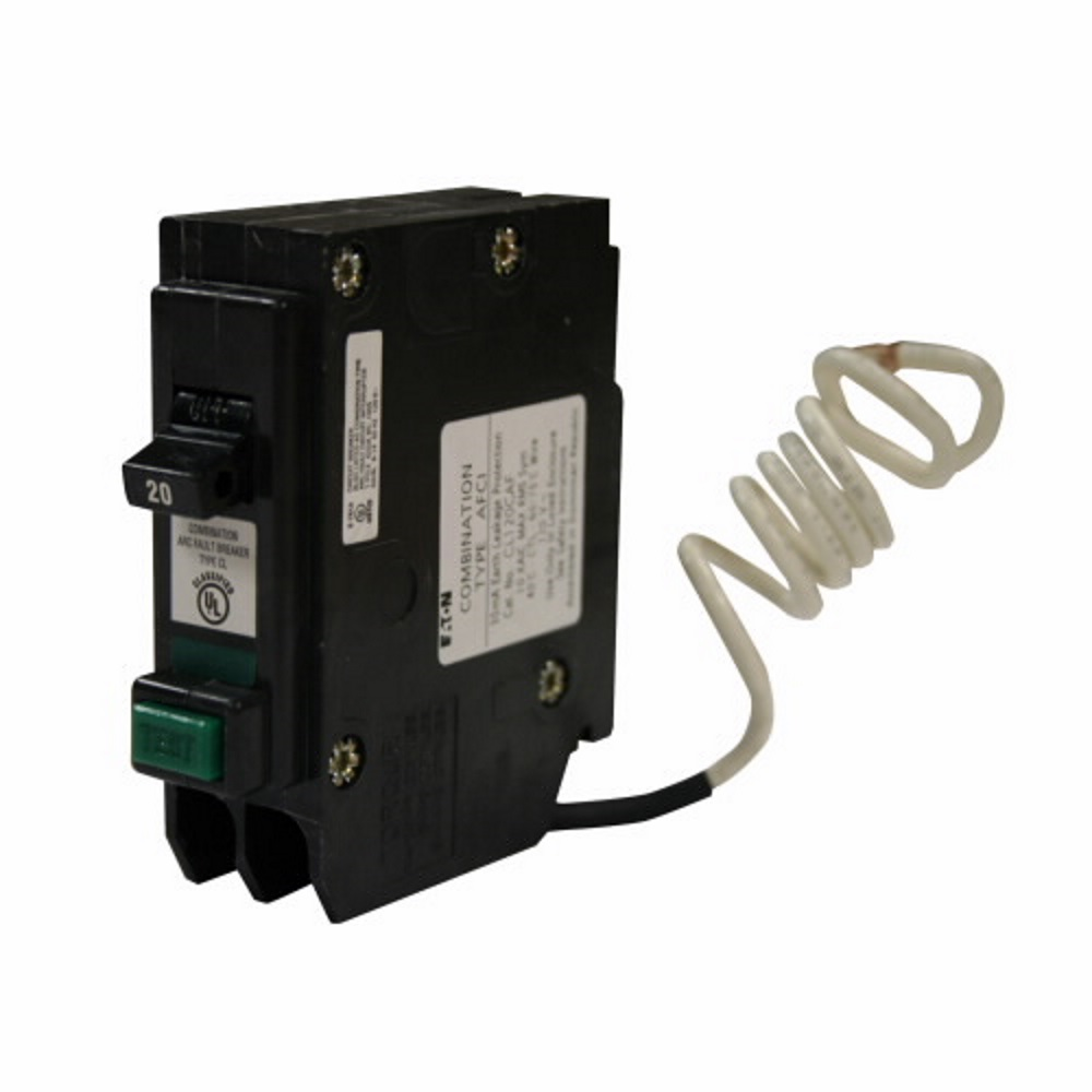 hight resolution of  20 amp combination arc fault circuit breaker eaton cl120cafcs