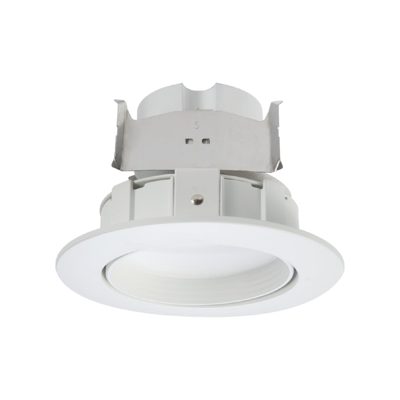 halo white recessed led adjustable gimbal
