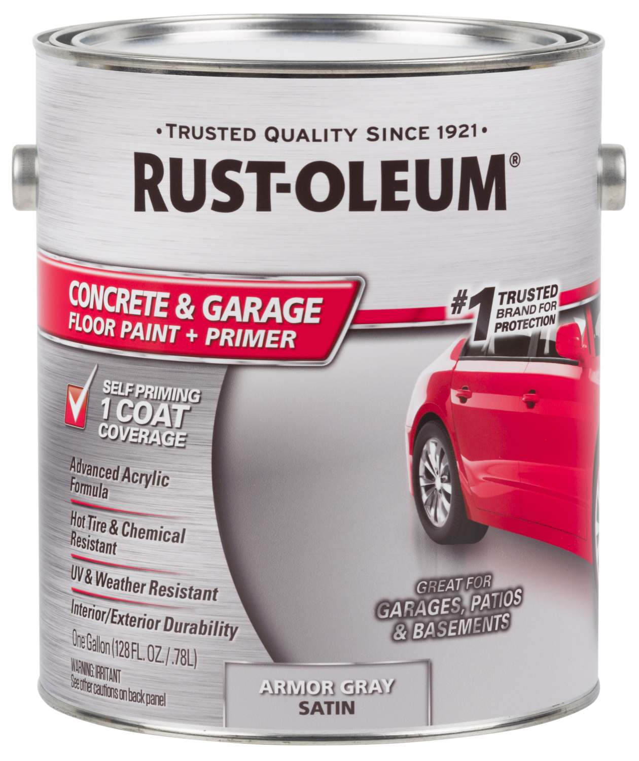 RustOleum 225359 EpoxyShield Concrete Floor Paint Armor