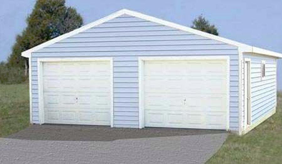 Garage Kits 24x30 24 X 30 Cimarron Garage Kit With Truss At Sutherlands