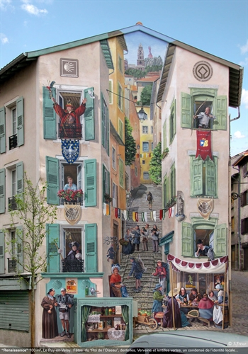 Transformacija dosadnih fasada u snazne scene pune zivota