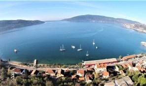 Prodaja – plac sa panoramskim pogledom na more – Zelenika, Herceg Novi