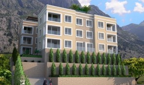 New residential complex in Dobrota, Kotor