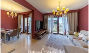 Stan u luksuznom zatvorenom kompleksu – Petrovac, Budva