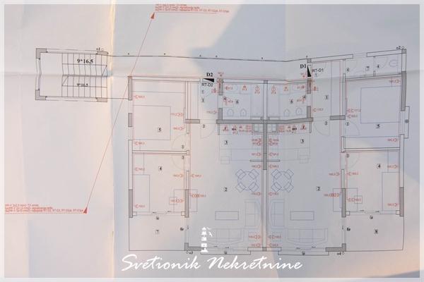 Prodaja stanova Herceg Novi - Dvosobni stanovi u izgradnji, Topla 3