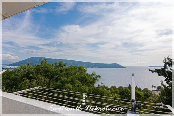Prodaja stanova Herceg Novi - Kompletno renoviran dvosoban stan sa panoramskim pogledom na more, Savina