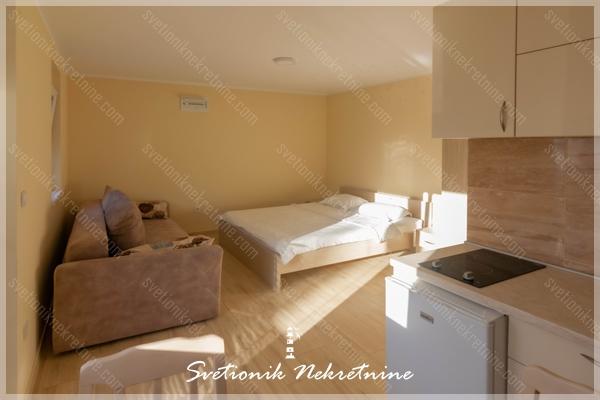 Prodaja stanova Herceg Novi - Studio apartman / garsonjera u novogradnji, Igalo
