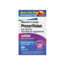 Bausch & Lomb PreserVision AREDS 60 Sgels - Swanson Health ...