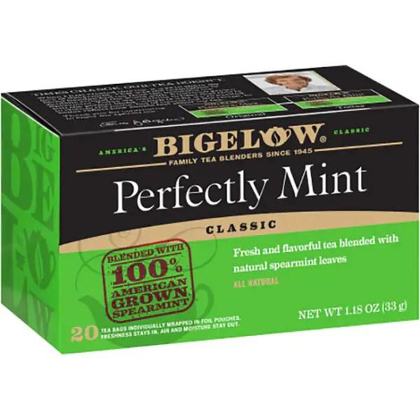 Bigelow Tea Plantation Mint Tea 20 Bags Swanson Health