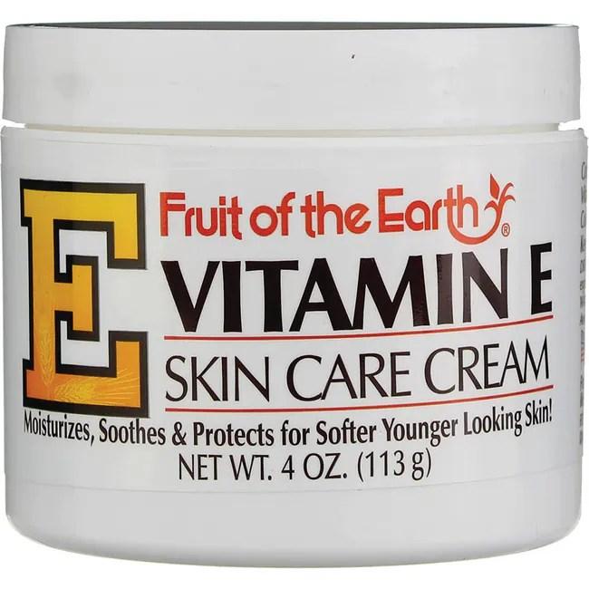 Fruit of the Earth Vitamin E Skin Care Cream 4 oz Cream ...