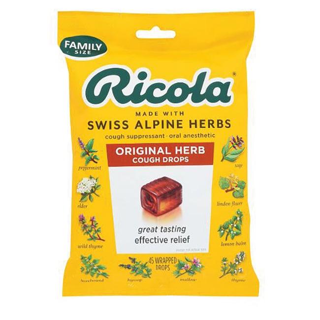 Ricola The Original Natural Herb Cough Drops 50 Ct ...