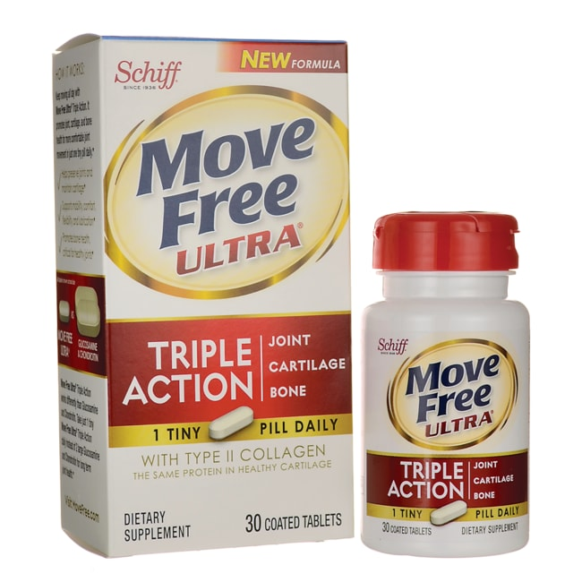 Schiff Move Free Ultra 30 Tabs - Swanson Health Products