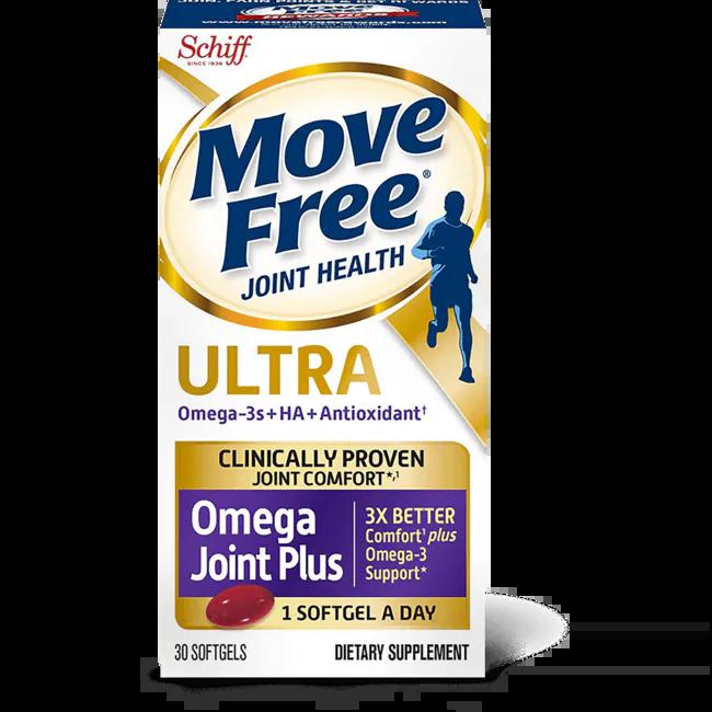 Schiff Move Free Ultra Omega 30 Sgels - Swanson Health ...