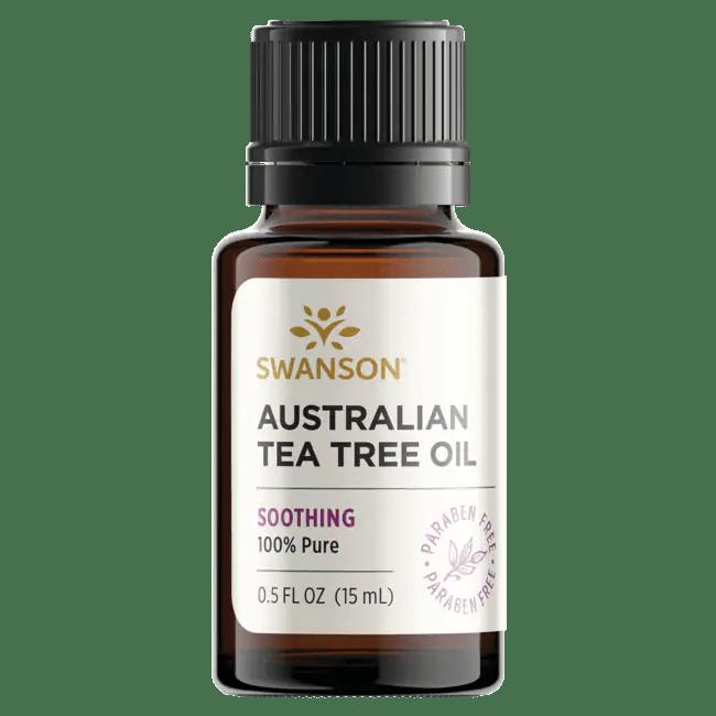 Swanson Ultra Tea Tree Oil 0.5 fl oz (15 ml) Liquid ...