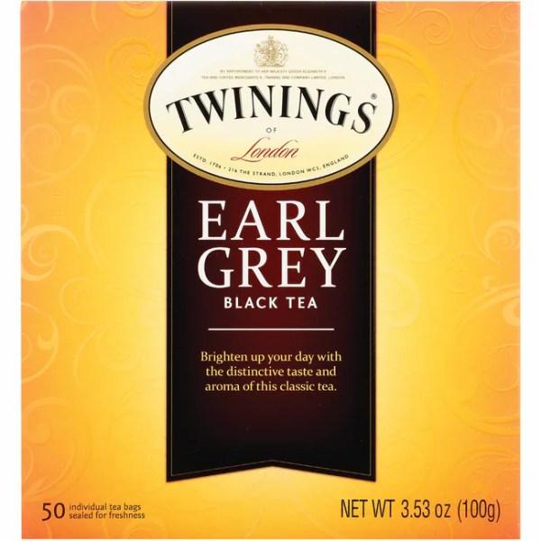 Twinings Classics Earl Grey Tea 50 Bags Swanson