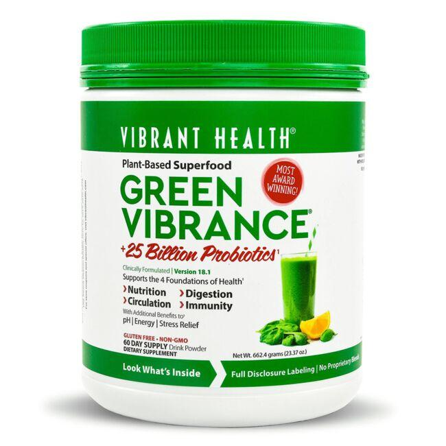 Vibrant Health Green Vibrance 23.37 oz Pwdr - Swanson ...