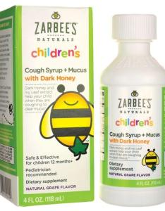 Zarbee  schildren  cough syrup mucus relief grape also children fl oz rh swansonvitamins