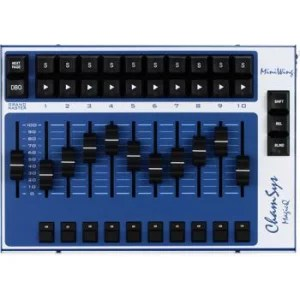 2 universe compact lighting console