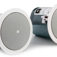 Volt Speakers 1996 Honda Civic Ex Power Window Wiring Diagram Jbl Control 24ct 4 Ceiling With Transformer Pair