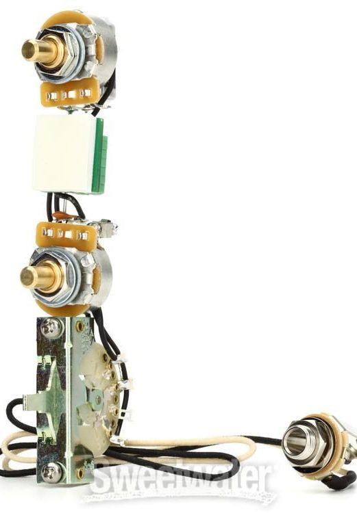 mojo tone solderless tele wiring harness  standard  sweetwater