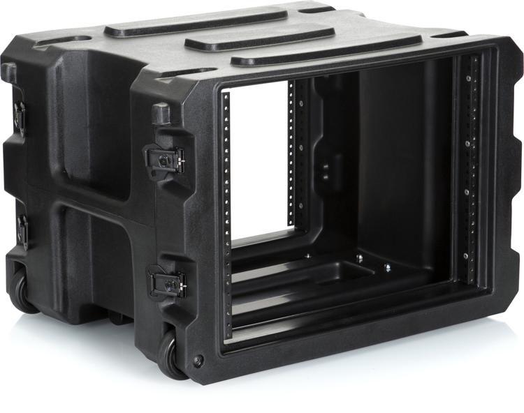 g pror 8u 19 pro series rolling rack case