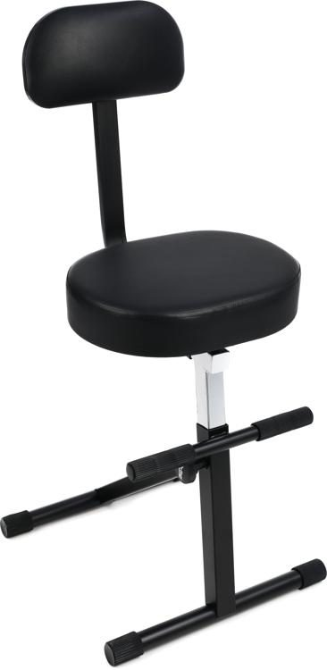chair stands on height metal stool stage dt8500 throne with backrest sweetwater