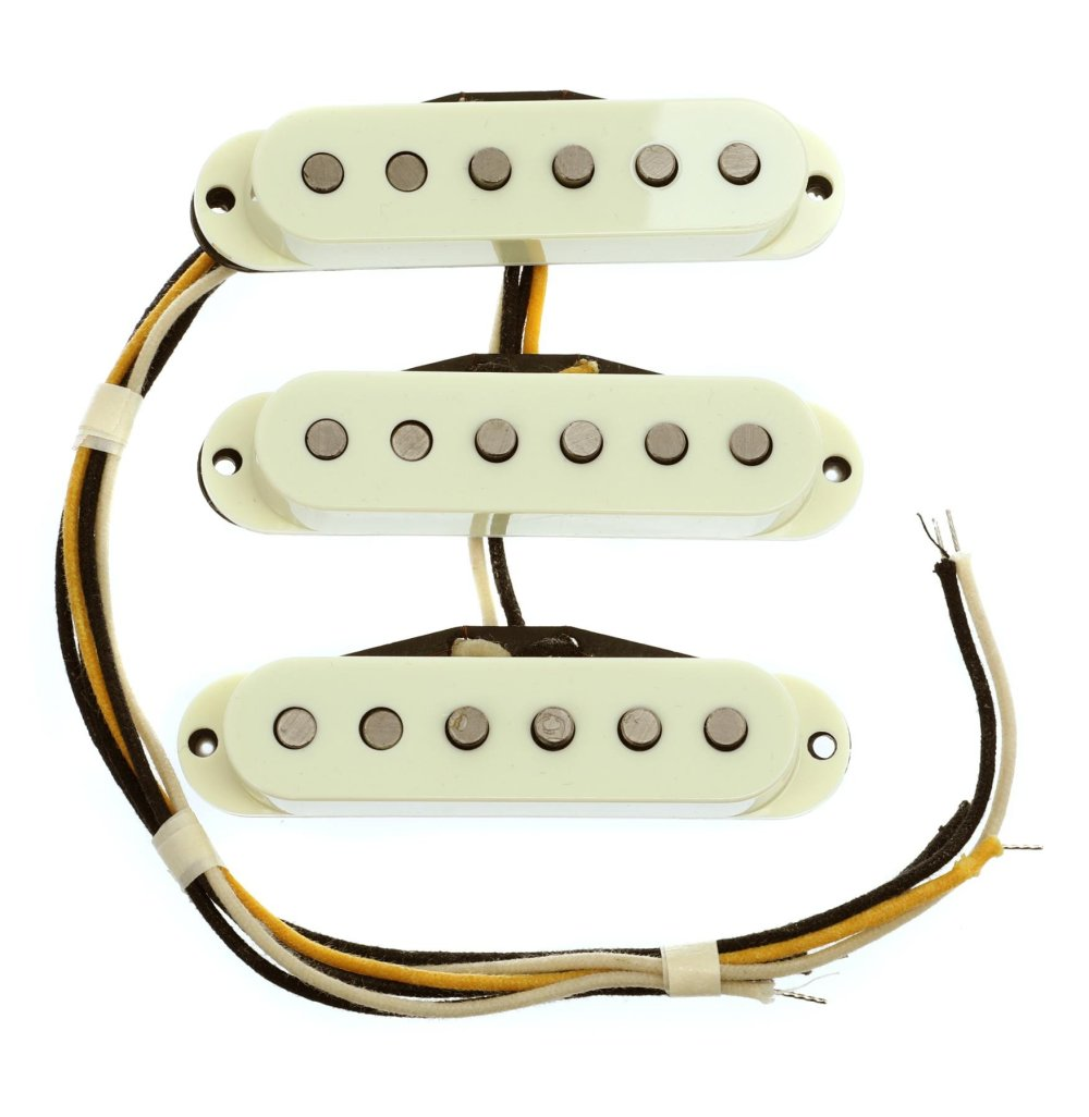 medium resolution of fender custom shop josefina limited edition hand wound fat 50s stratocaster pickup set image