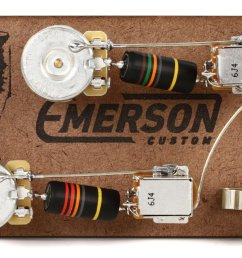 emerson custom prewire kit for gibson les paul guitars long shaft with push pull [ 1800 x 1119 Pixel ]