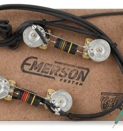 emerson custom prewired kit for gibson es 335 [ 1800 x 1143 Pixel ]