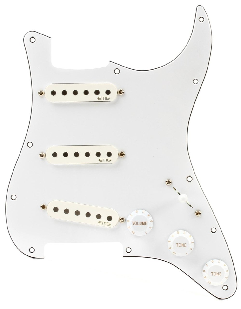 medium resolution of emg ra 2 pro retro active strat style pre wired pickguard s