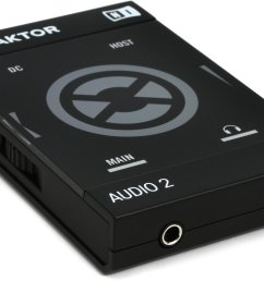 native instruments traktor audio 2 mk2 2 channel dj audio interface [ 1800 x 901 Pixel ]