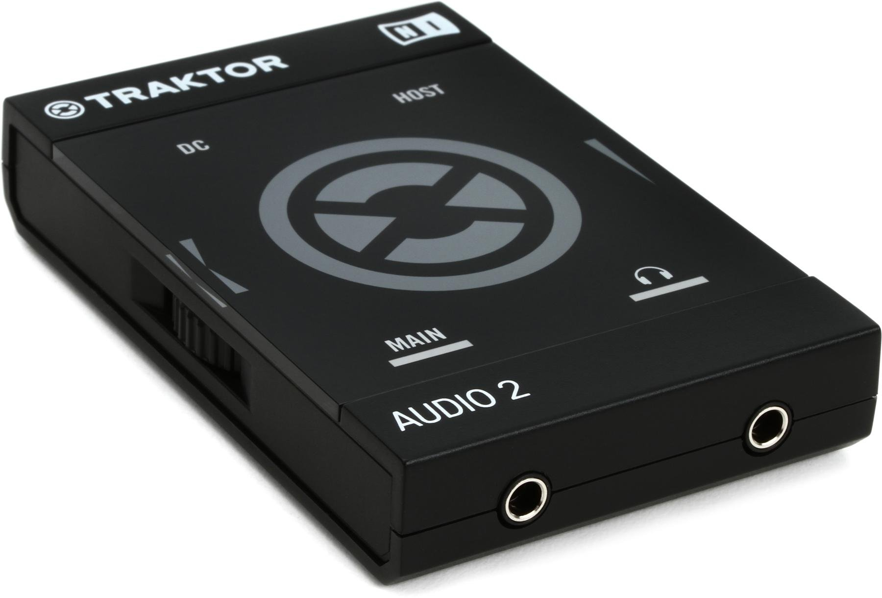 hight resolution of native instruments traktor audio 2 mk2 2 channel dj audio interface