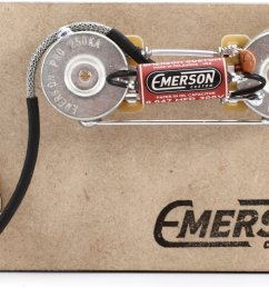 emerson custom prewired kit for precision bass image 1 [ 1800 x 1089 Pixel ]
