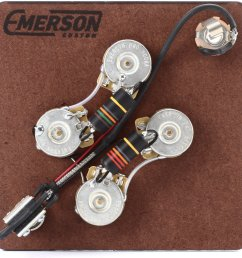 emerson custom prewired kit for gibson sg guitars image 1 [ 1795 x 1800 Pixel ]