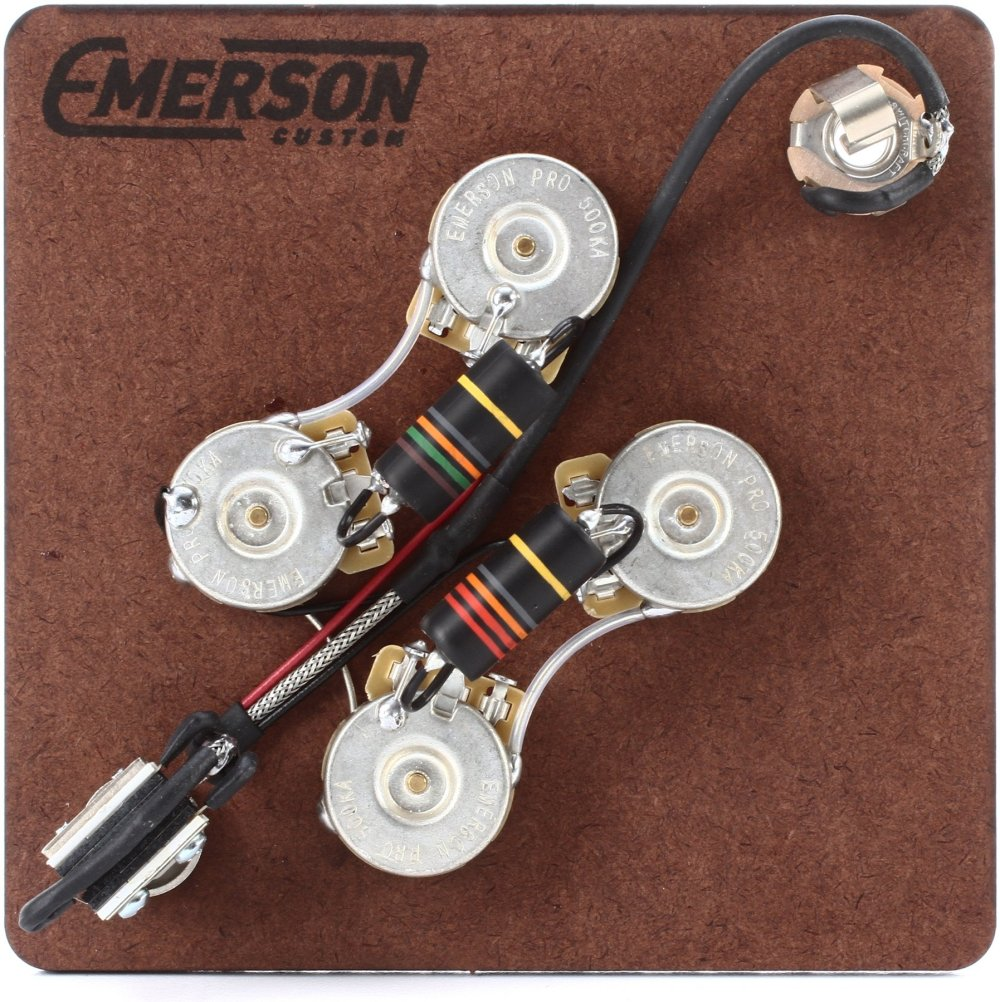 medium resolution of emerson custom prewired kit for gibson sg guitars image 1