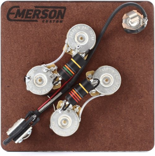 small resolution of emerson custom prewired kit for gibson sg guitars image 1