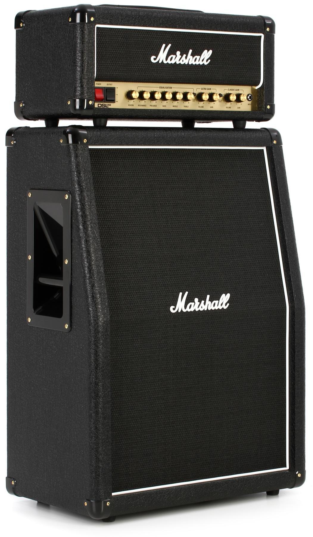 hight resolution of marshall dsl20hr bundle head and mx212ar cabinet bundle image 1