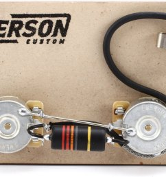emerson custom prewired kit for gibson les paul junior [ 1800 x 1096 Pixel ]