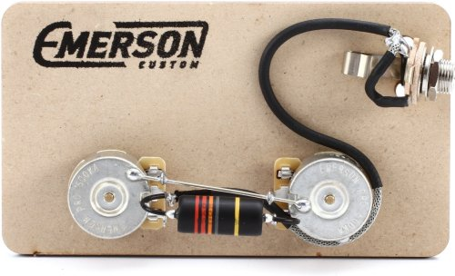 small resolution of emerson custom prewired kit for gibson les paul junior image 1