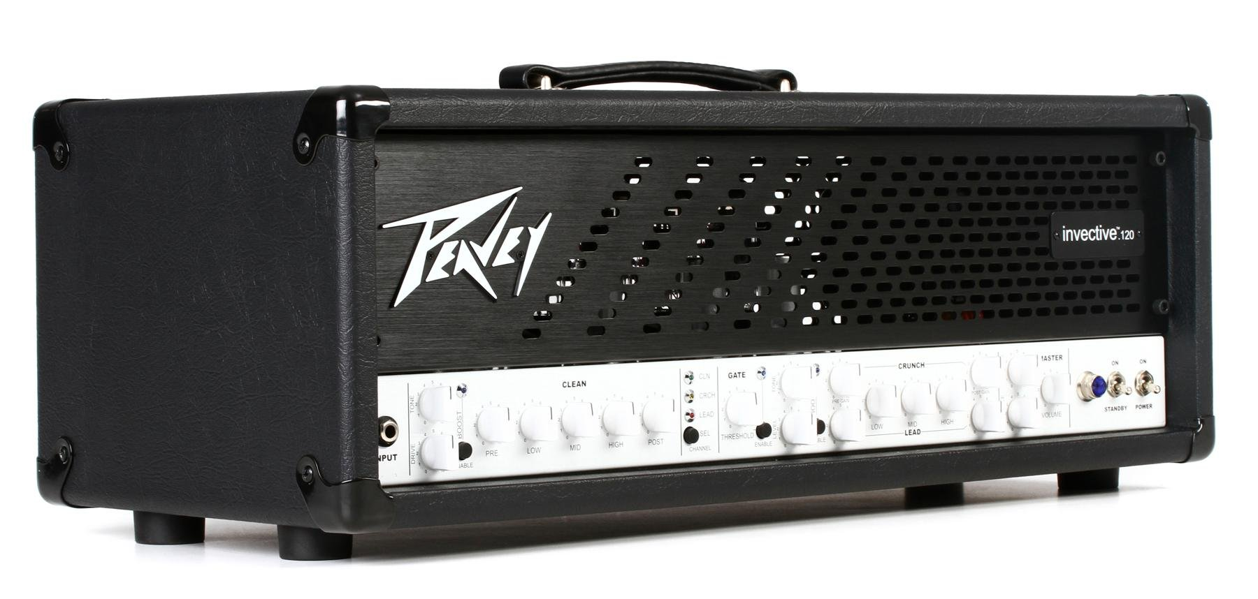 hight resolution of peavey invective 120 120 watt tube head image 1