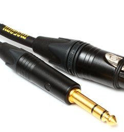 mogami gold trsxlrf 03 balanced 1 4 to xlr female patch cable  [ 1800 x 1285 Pixel ]