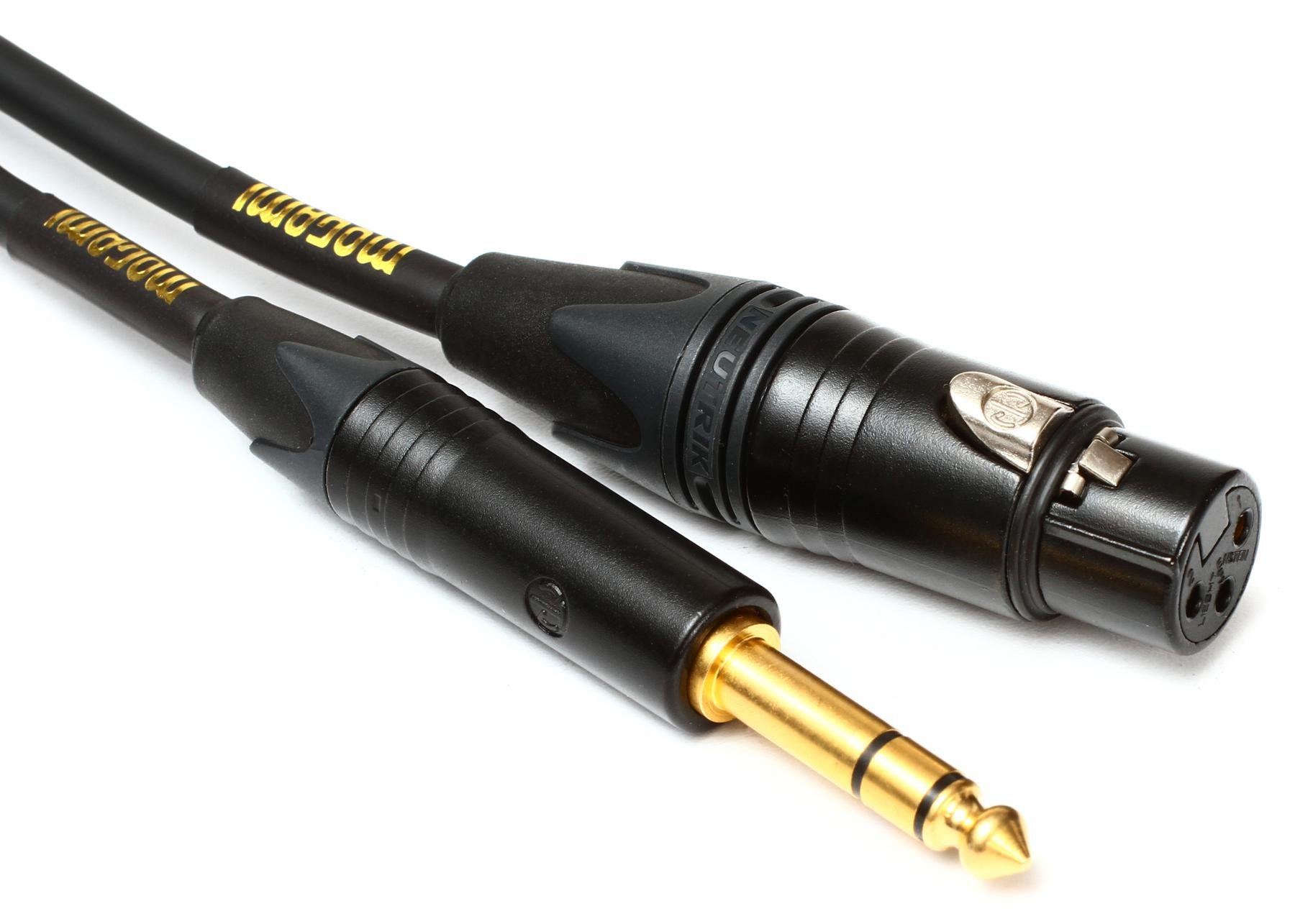 hight resolution of mogami gold trsxlrf 03 balanced 1 4 to xlr female patch cable