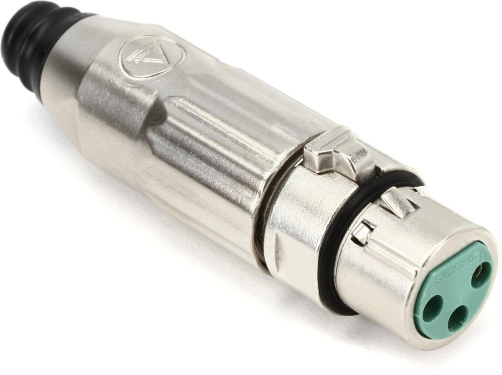 medium resolution of switchcraft aaa3fz female 3 pin xlr connector